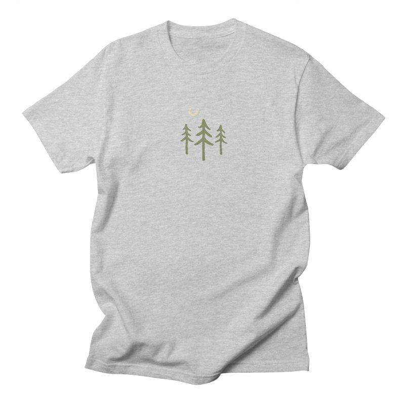 Forest Moon Men's Regular T-Shirt by Forest City Designs Artist Shop