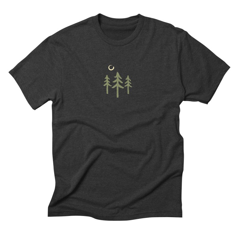 Forest Moon Men's Triblend T-Shirt by Forest City Designs Artist Shop