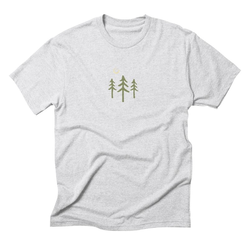 Forest Moon Men's Triblend T-Shirt by Forest City Designs Artist Shop