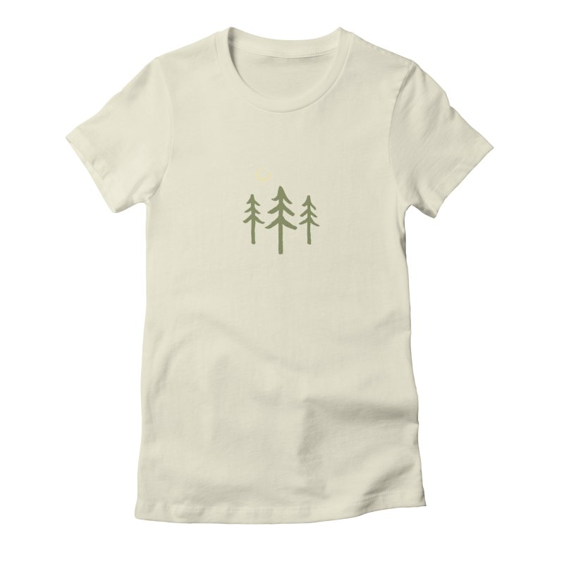 Forest Moon Women's T-Shirt by Forest City Designs Artist Shop