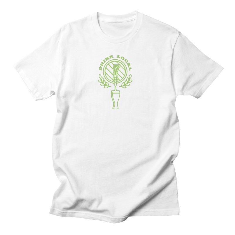 Drink Local Men's T-Shirt by Forest City Designs Artist Shop