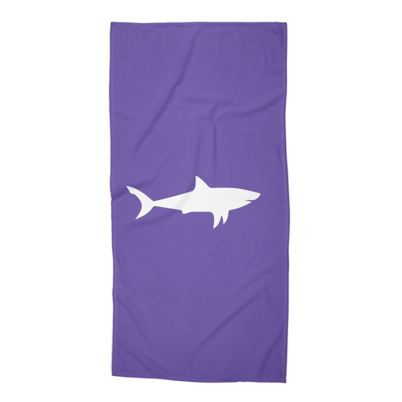 Bad White Accessories Beach Towel by Forest City Designs Artist Shop