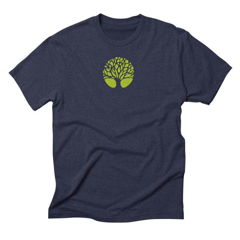 Big Tree Men's Triblend T-Shirt by Forest City Designs Artist Shop
