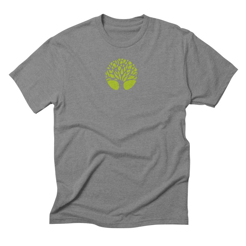 Big Tree in Men's Triblend T-Shirt Grey Triblend by Forest City Designs Artist Shop