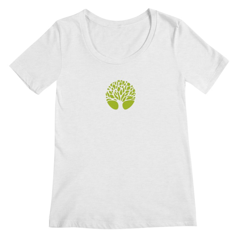 Big Tree Women's Regular Scoop Neck by Forest City Designs Artist Shop