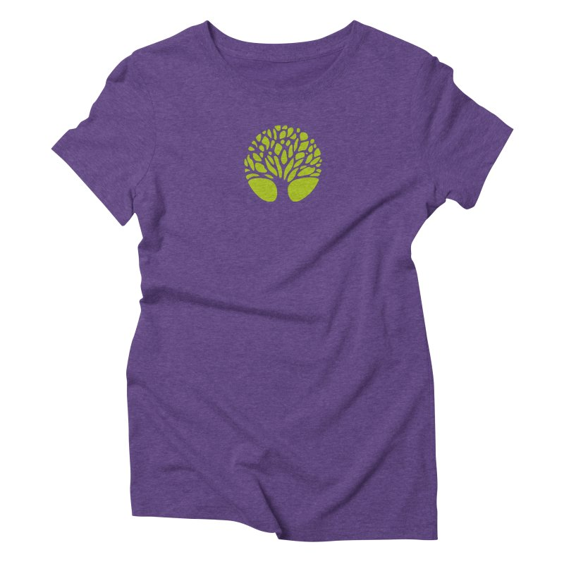 Big Tree Women's Triblend T-Shirt by Forest City Designs Artist Shop