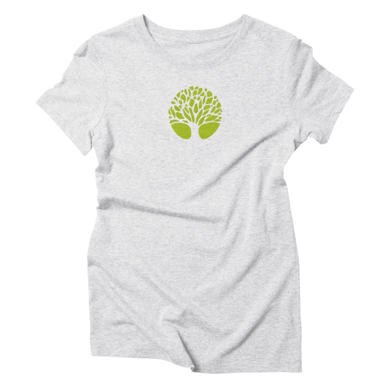 Big Tree Women's Triblend T-Shirt by Forest City Designs Artist Shop