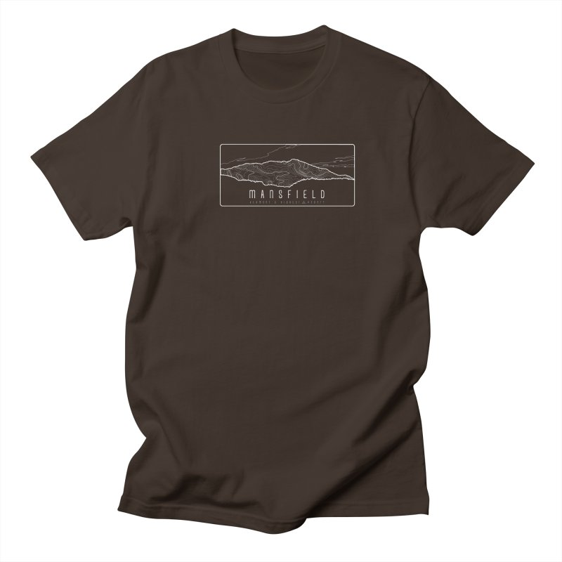 Vermont's Highest Men's Regular T-Shirt by Forest City Designs Artist Shop
