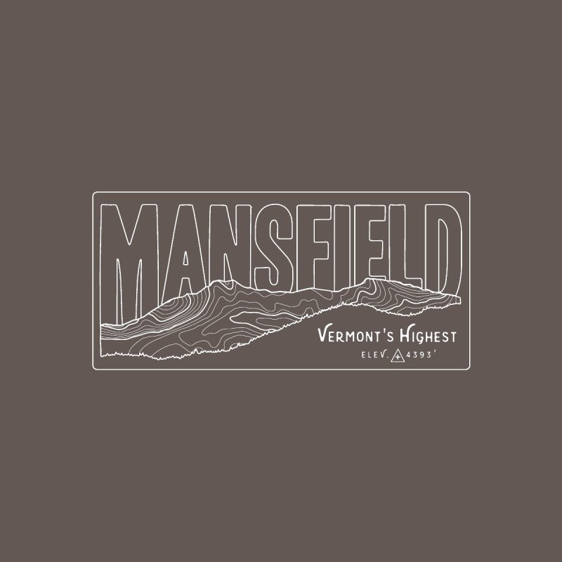 Mansfield, Vermont's highest Women's T-Shirt by Forest City Designs Artist Shop