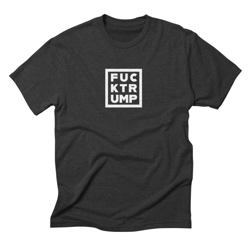 FTRUMP Men's Triblend T-Shirt by Forest City Designs Artist Shop