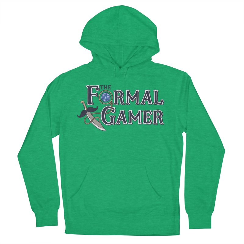 Formal Gamer Logo Men's Pullover Hoody by The Formal Gamer