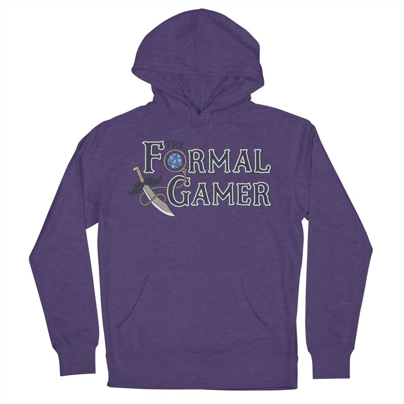 Formal Gamer Logo Women's French Terry Pullover Hoody by The Formal Gamer