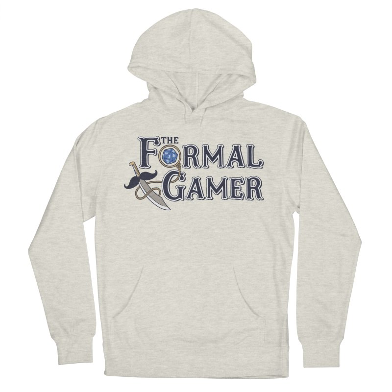 Formal Gamer Logo Men's French Terry Pullover Hoody by The Formal Gamer
