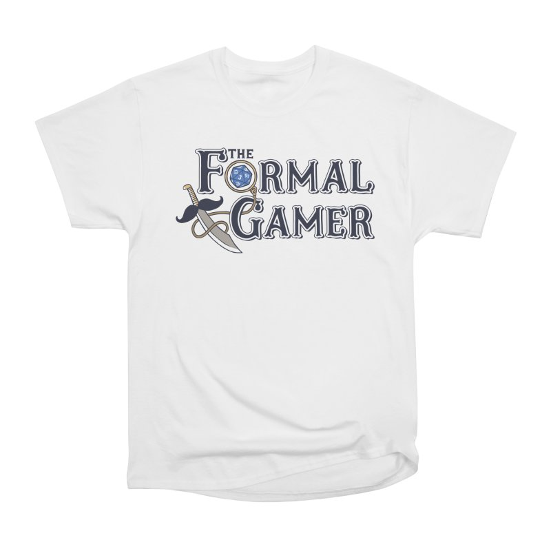 Formal Gamer Logo Men's Heavyweight T-Shirt by The Formal Gamer