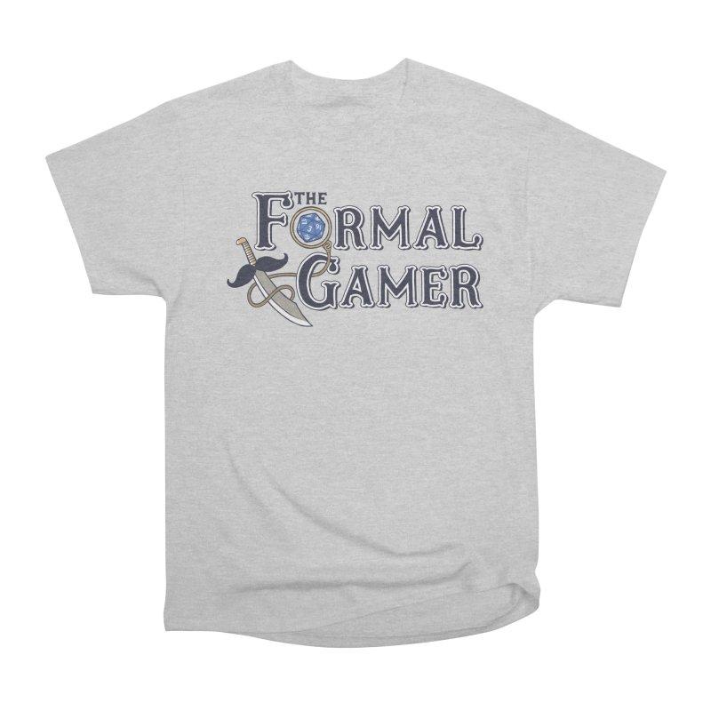 Formal Gamer Logo Men's Heavyweight T-Shirt by The Formal Gamer