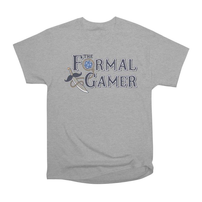 Formal Gamer Logo Women's Heavyweight Unisex T-Shirt by The Formal Gamer