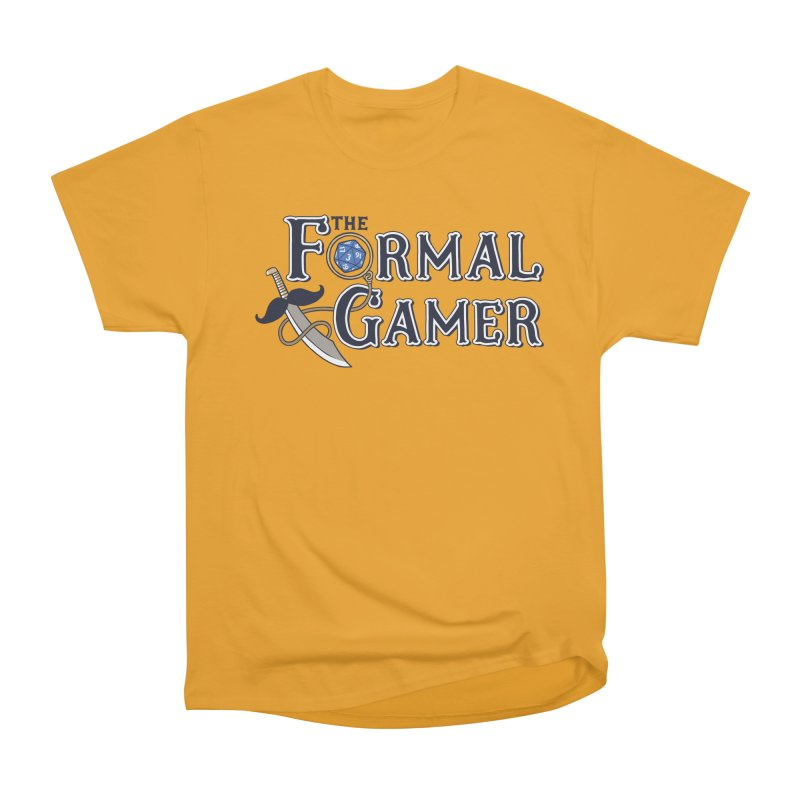 Formal Gamer Logo Women's Heavyweight Unisex T-Shirt by The Formal Gamer
