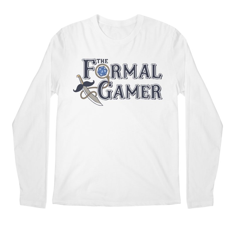 Formal Gamer Logo Men's Longsleeve T-Shirt by The Formal Gamer