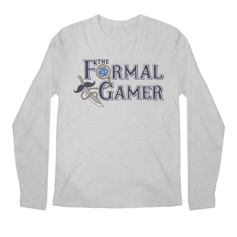 Formal Gamer Logo Men's Regular Longsleeve T-Shirt by The Formal Gamer