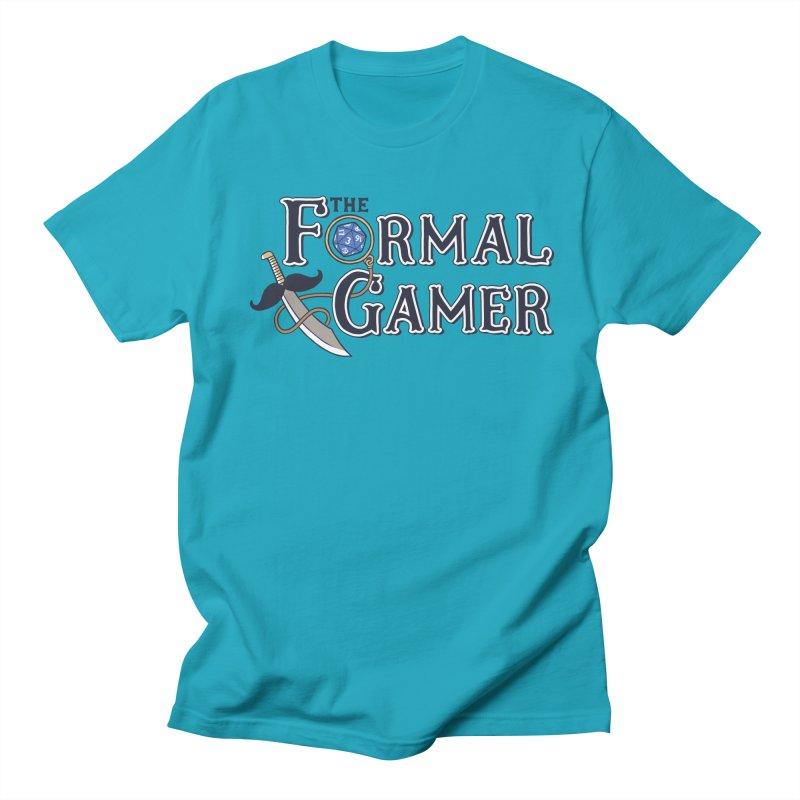 Formal Gamer Logo Men's Regular T-Shirt by The Formal Gamer