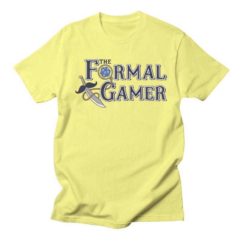 Formal Gamer Logo Women's Regular Unisex T-Shirt by The Formal Gamer