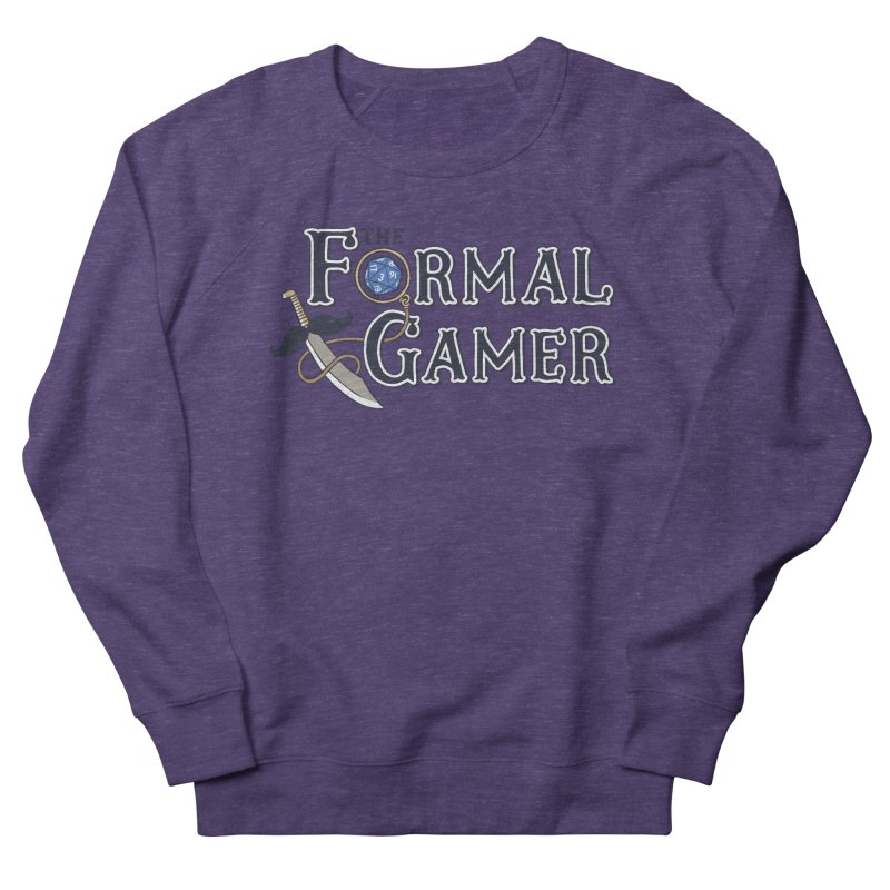 Formal Gamer Logo Women's Sweatshirt by The Formal Gamer