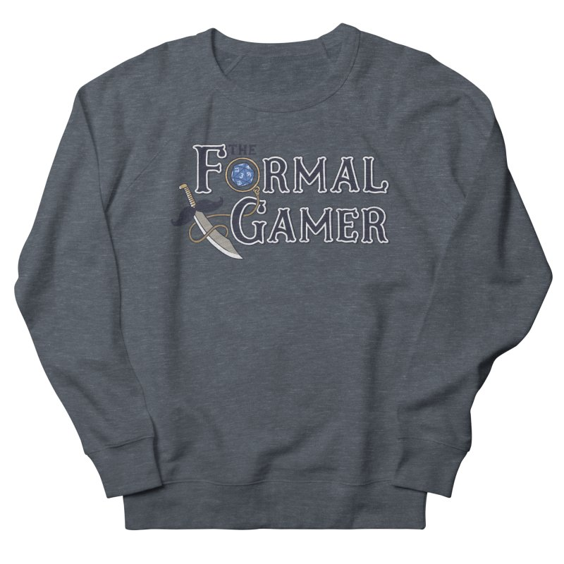 Formal Gamer Logo Women's French Terry Sweatshirt by The Formal Gamer