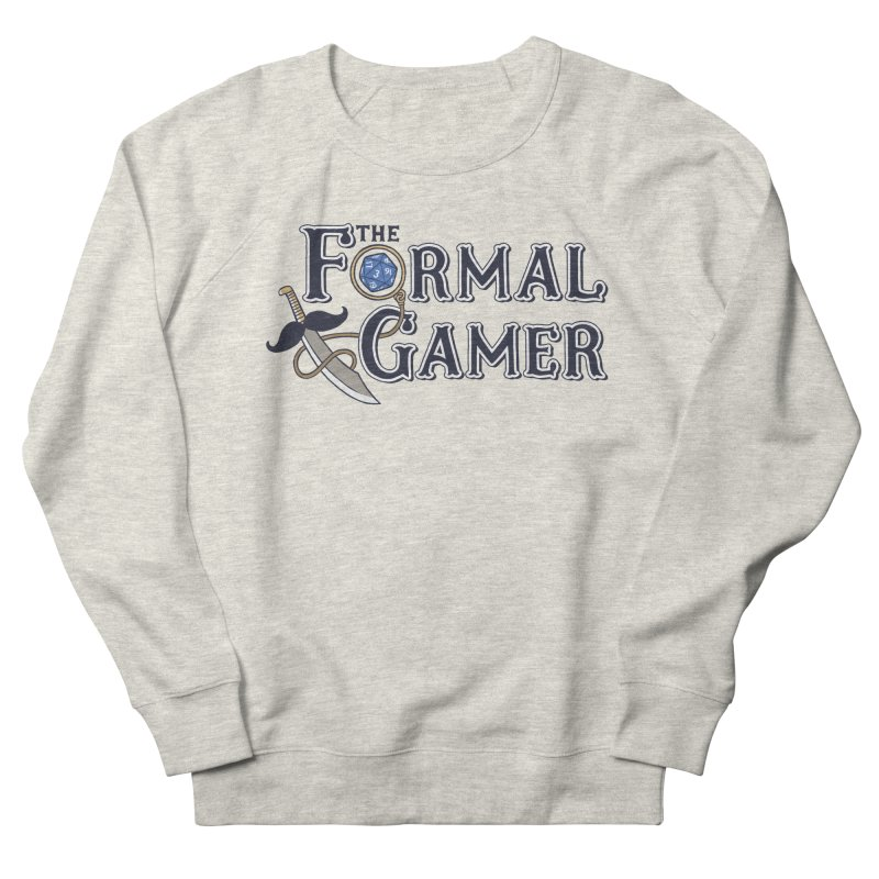 Formal Gamer Logo Men's French Terry Sweatshirt by The Formal Gamer