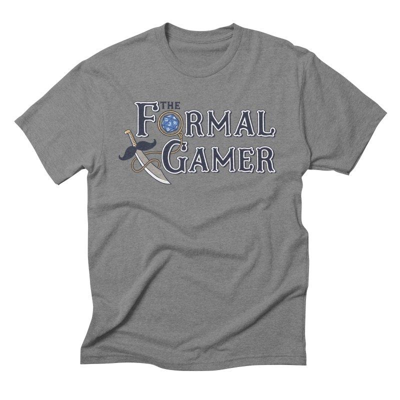 Formal Gamer Logo Men's Triblend T-Shirt by The Formal Gamer