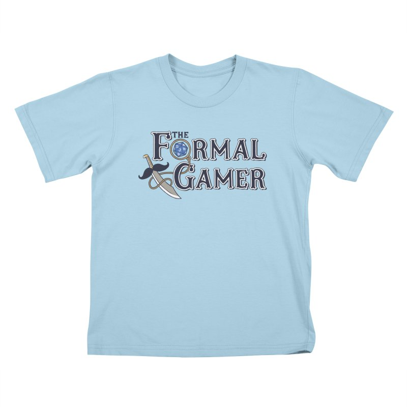 Formal Gamer Logo Kids T-Shirt by The Formal Gamer