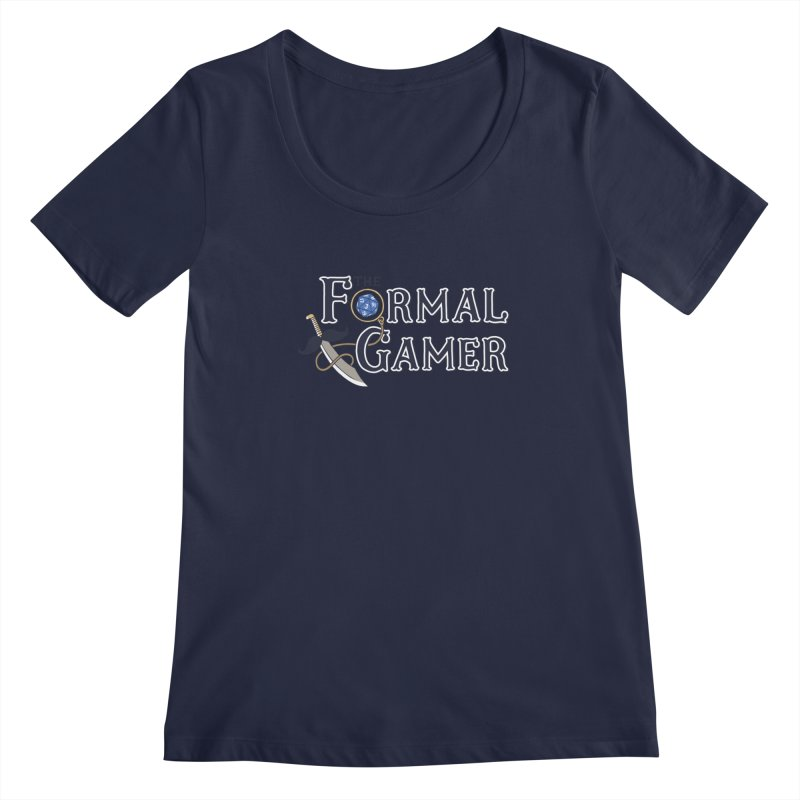 Formal Gamer Logo Women's Regular Scoop Neck by The Formal Gamer