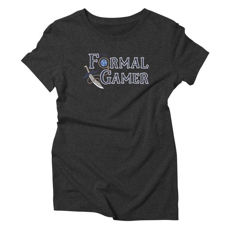 Formal Gamer Logo Women's Triblend T-Shirt by The Formal Gamer
