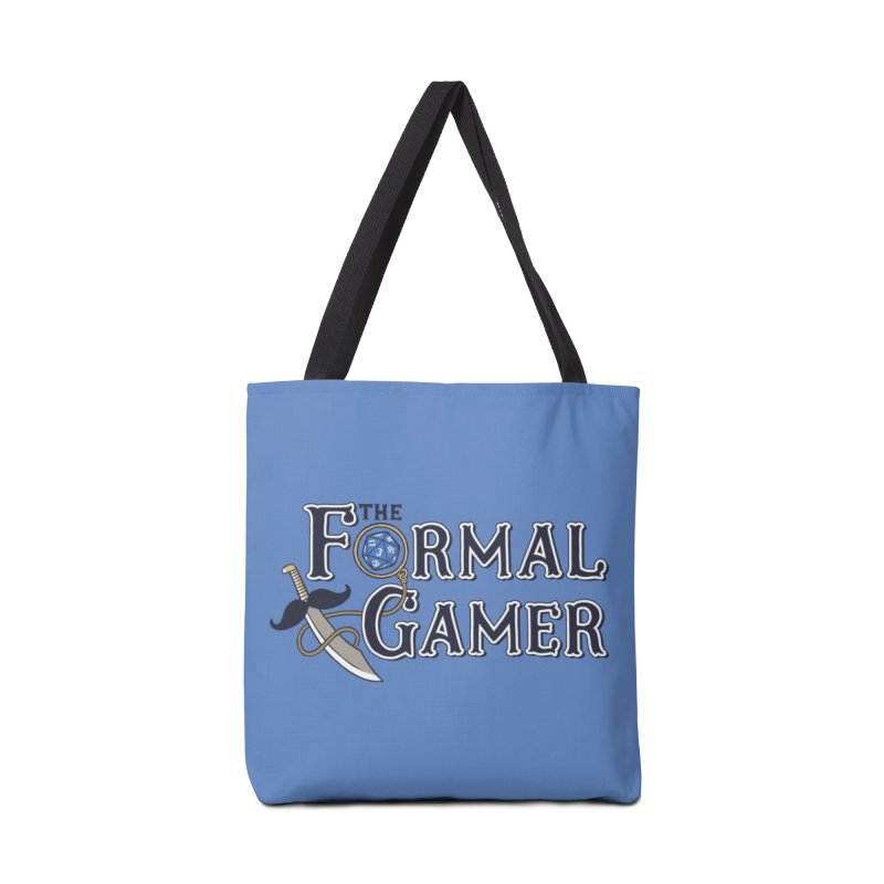Formal Gamer Logo Accessories Tote Bag Bag by The Formal Gamer