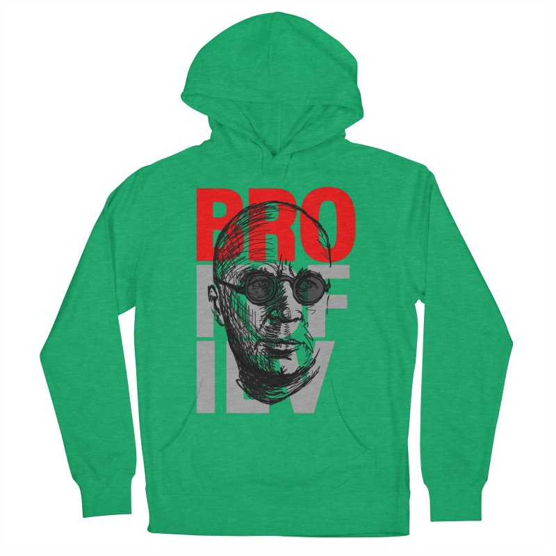 Brokofiev in Red and Gray Women's Pullover Hoody by Fortissimo6's Shop