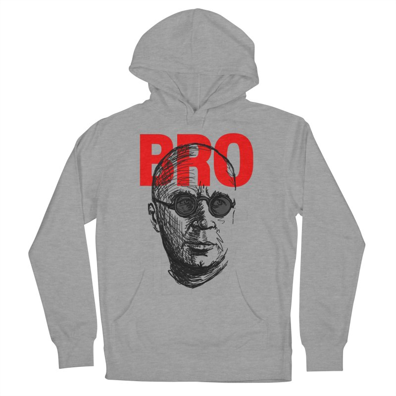 Brokofiev in Red and Gray Men's Pullover Hoody by Fortissimo6's Shop