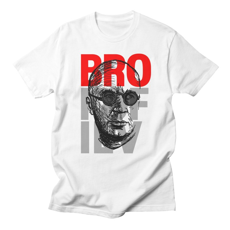 Brokofiev in Red and Gray Men's T-shirt by Fortissimo6's Shop
