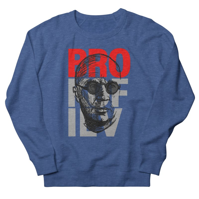 Brokofiev in Red and Gray Women's Sweatshirt by Fortissimo6's Shop