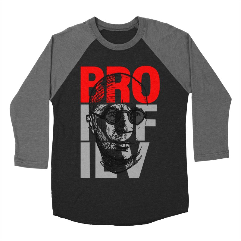 Brokofiev in Red and Gray Women's Baseball Triblend T-Shirt by Fortissimo6's Shop