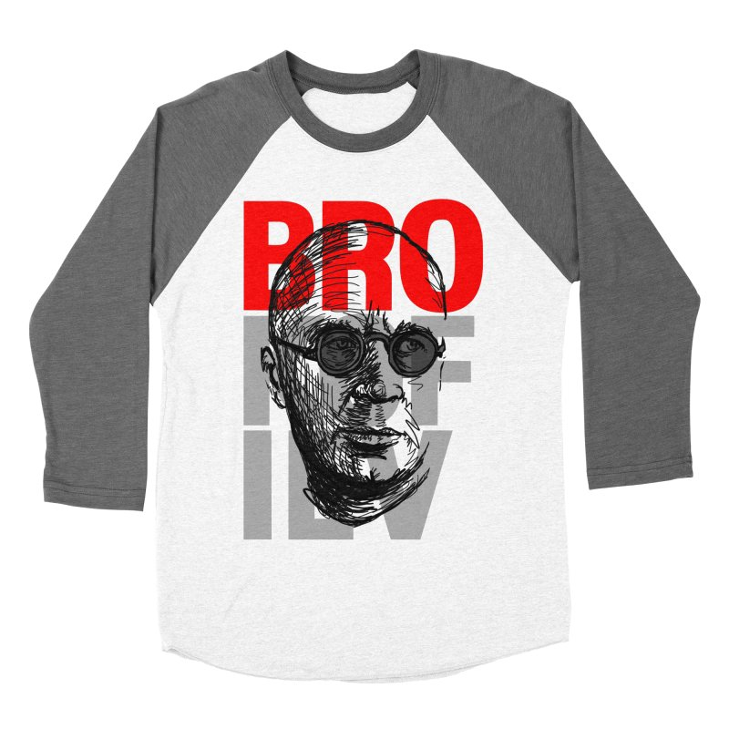 Brokofiev in Red and Gray Men's Baseball Triblend T-Shirt by Fortissimo6's Shop