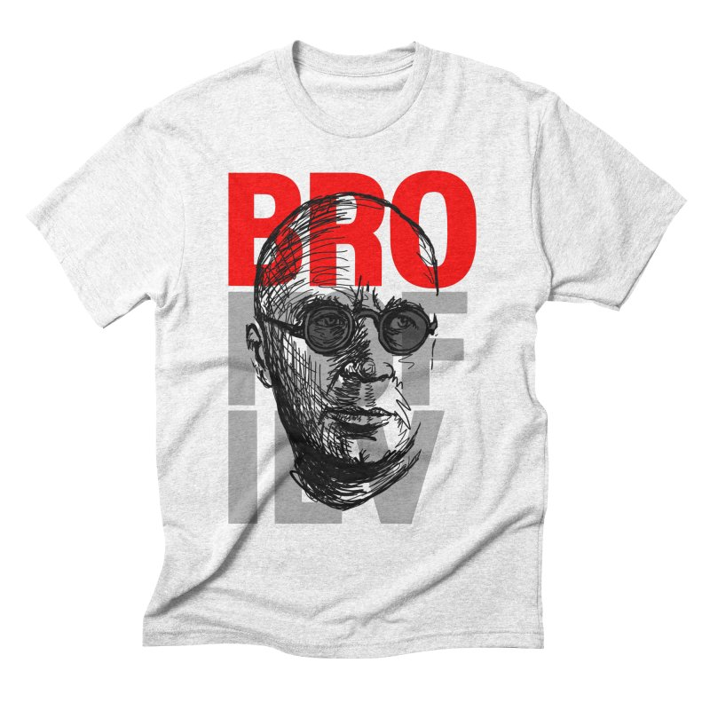 Brokofiev in Red and Gray Men's Triblend T-shirt by Fortissimo6's Shop