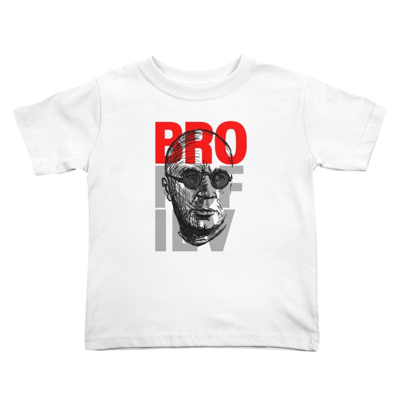 Brokofiev in Red and Gray Kids Toddler T-Shirt by Fortissimo6's Shop