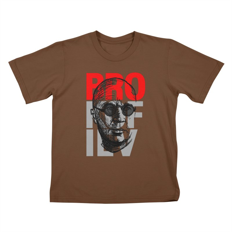 Brokofiev in Red and Gray Kids T-shirt by Fortissimo6's Shop