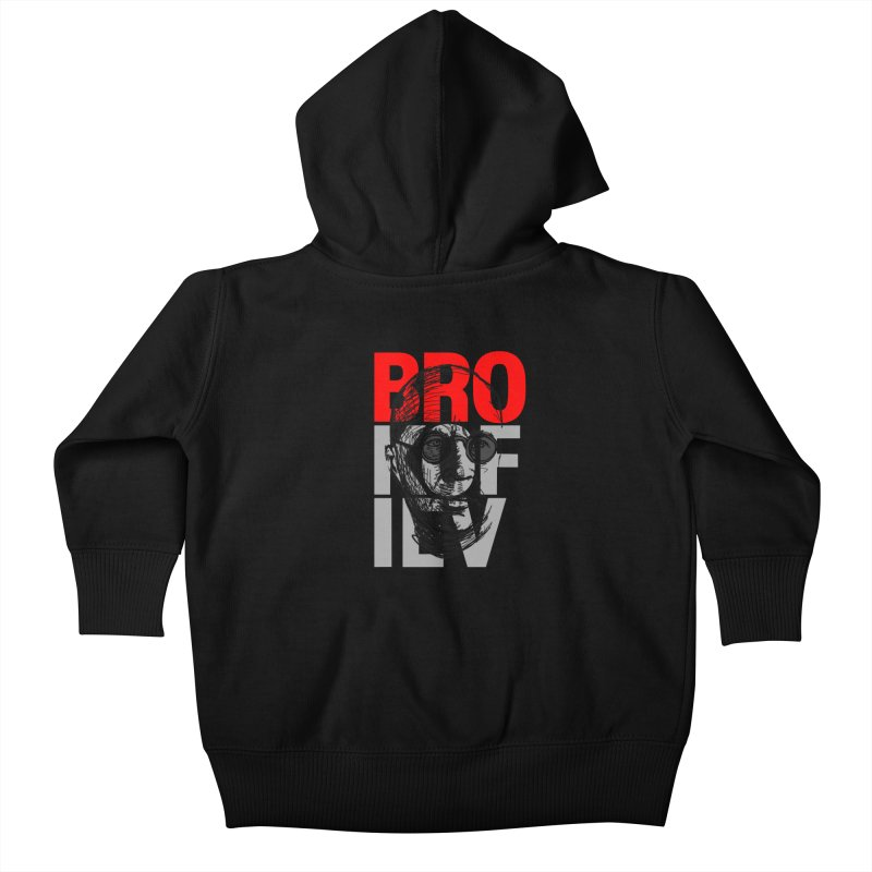 Brokofiev in Red and Gray Kids Baby Zip-Up Hoody by Fortissimo6's Shop