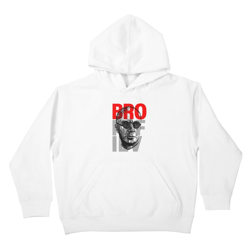 Brokofiev in Red and Gray Kids Pullover Hoody by Fortissimo6's Shop