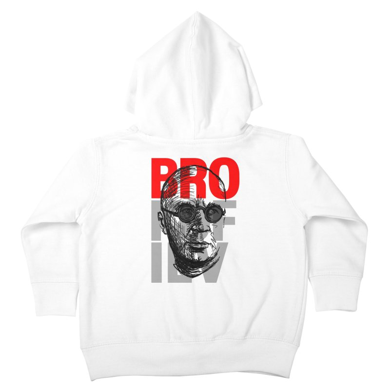 Brokofiev in Red and Gray Kids Toddler Zip-Up Hoody by Fortissimo6's Shop