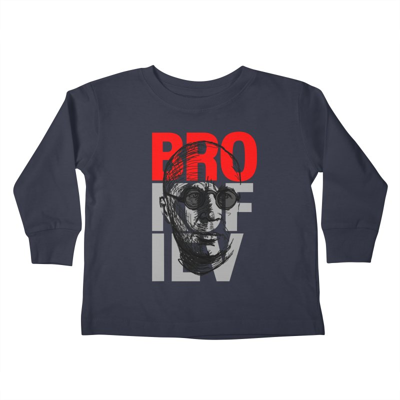 Brokofiev in Red and Gray Kids Toddler Longsleeve T-Shirt by Fortissimo6's Shop
