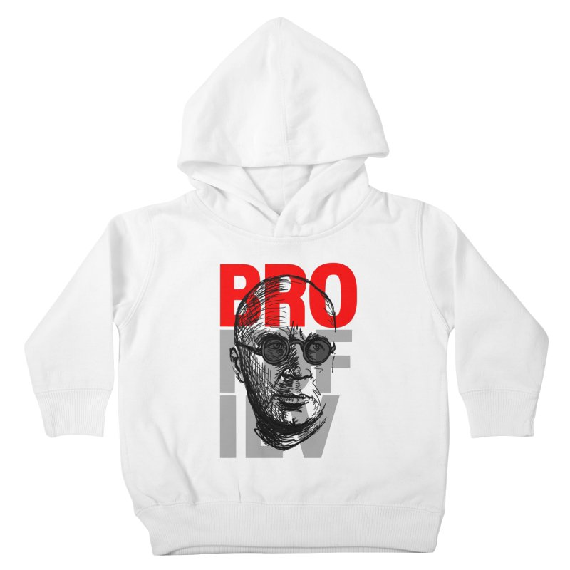 Brokofiev in Red and Gray Kids Toddler Pullover Hoody by Fortissimo6's Shop
