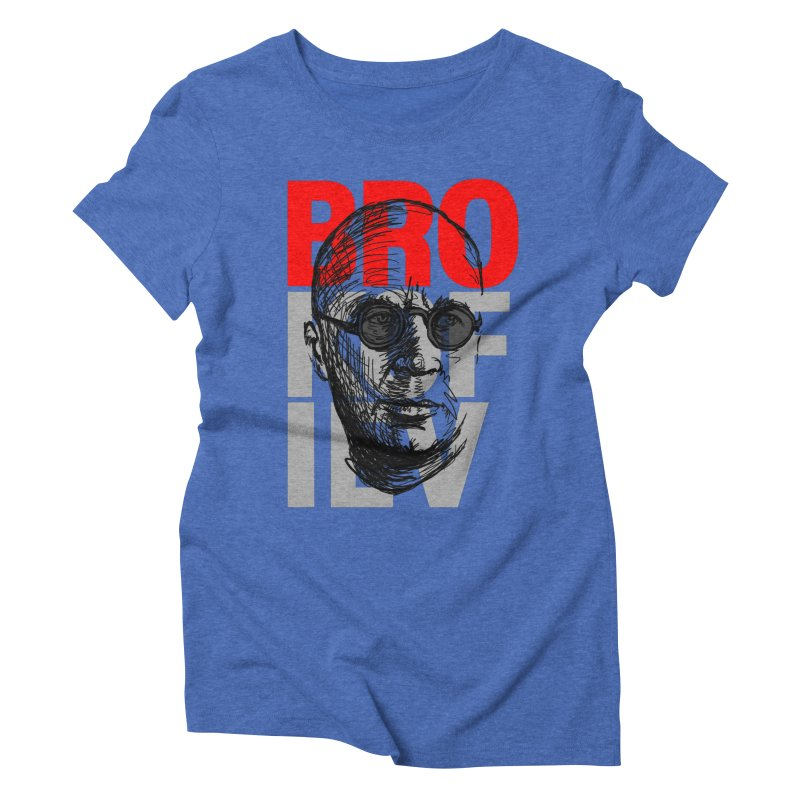 Brokofiev in Red and Gray Women's Triblend T-Shirt by Fortissimo6's Shop