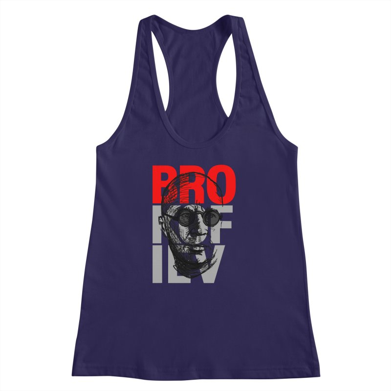 Brokofiev in Red and Gray Women's Racerback Tank by Fortissimo6's Shop