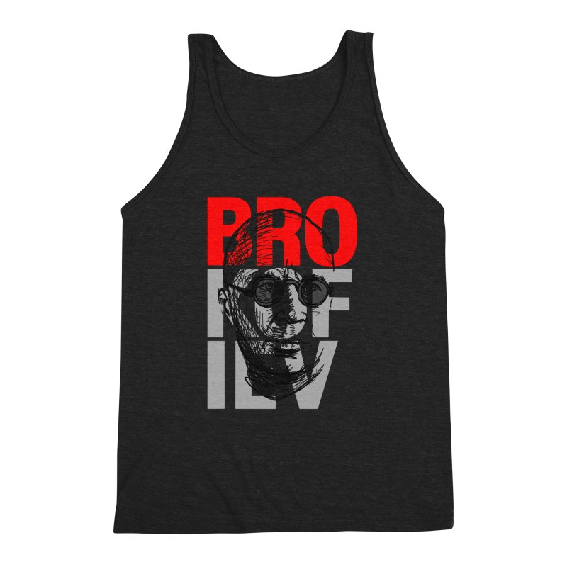 Brokofiev in Red and Gray Men's Triblend Tank by Fortissimo6's Shop